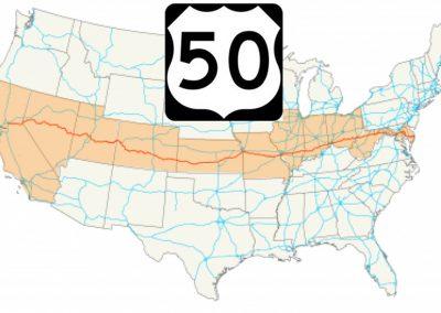 大陸横断 USハイウェイ 50